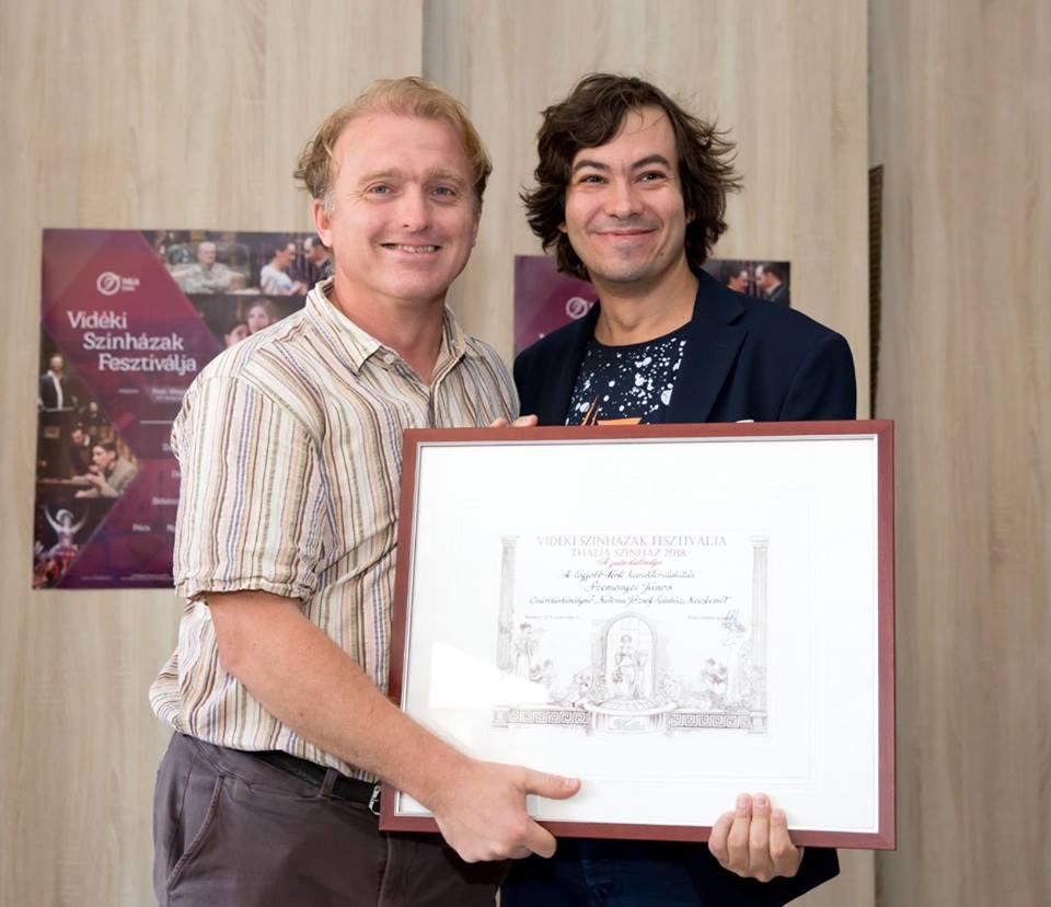 Vidéki Színházak Fesztiválja díj – 2018